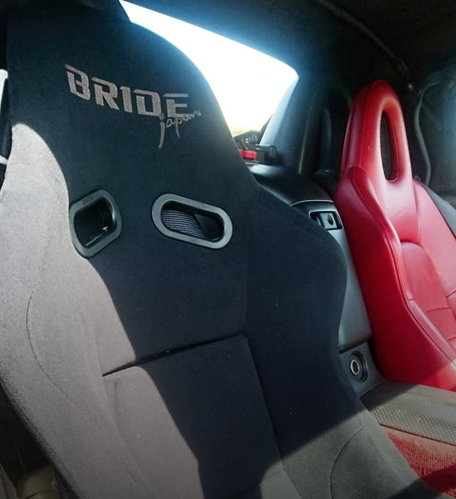 DRIVER POSITION BRIDE FULL BUCKET SEAT
