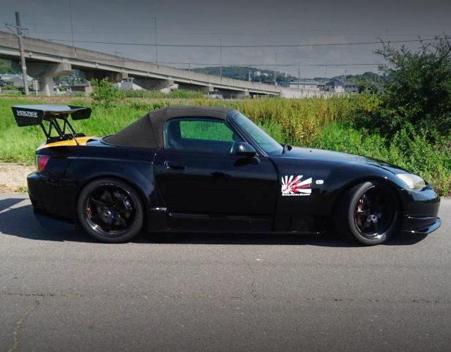 SIDE EXTERIOR S2000 BLACK