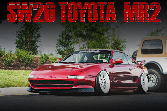 STANCE CUSTOM SW20 MR2 RED