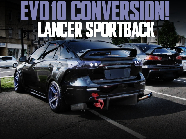 EVO10 CONVERSION LANCER SPORT BACK RALLIART
