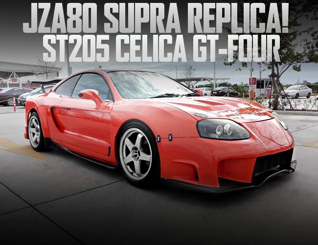 JZA80 SUPRA REPLICA ST205 CELICA
