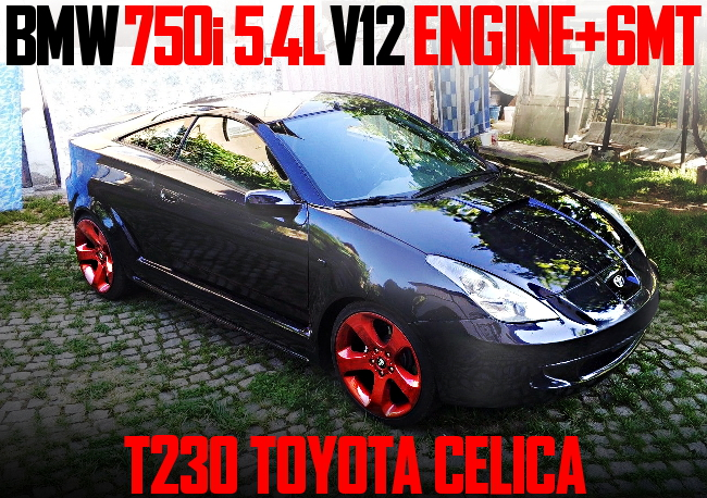 BMW V12 ENGINE WITH 6MT T230 CELICA