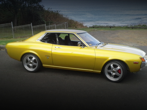 SIDE EXTERIOR GOLD TA22 CELICA