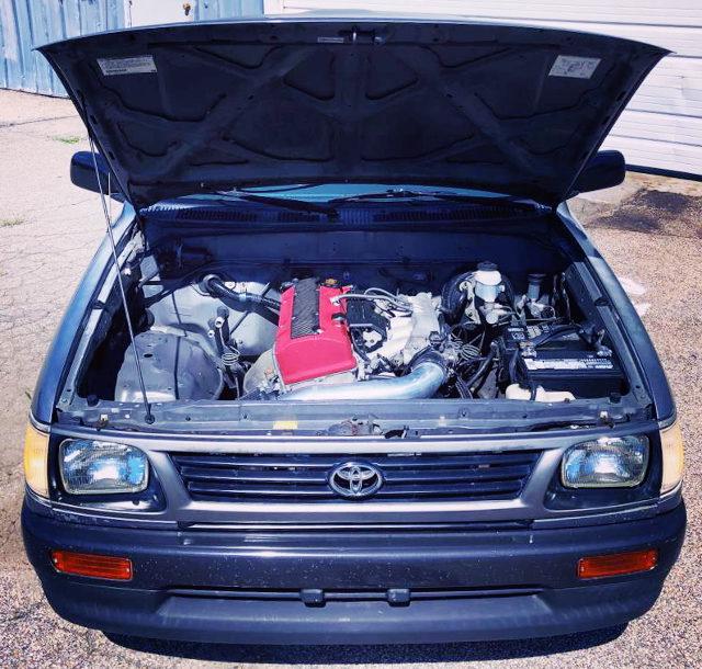 F22C VTEC ENGINE