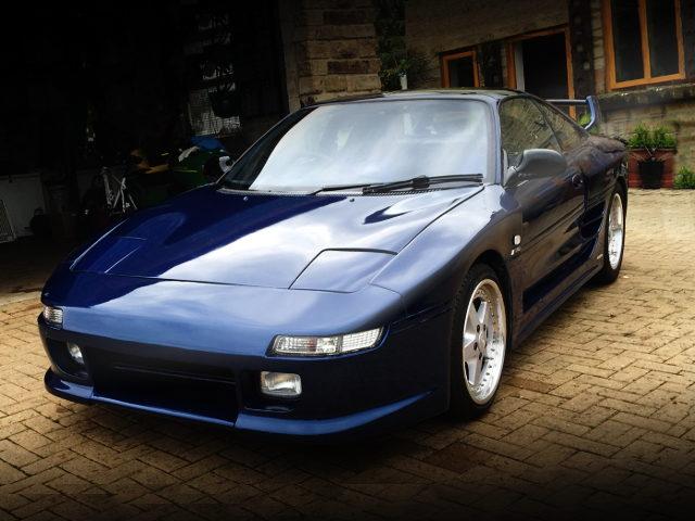 FRONT EXTERIOR BLUE TRD2000GT MR2