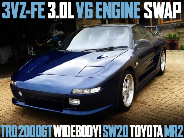 3VZ-FE 3000cc V6 TRD2000GT WIDEBODY MR2