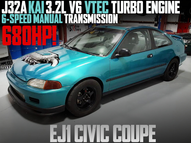 J32A VTEC TURBO EJ1 CIVIC COUPE