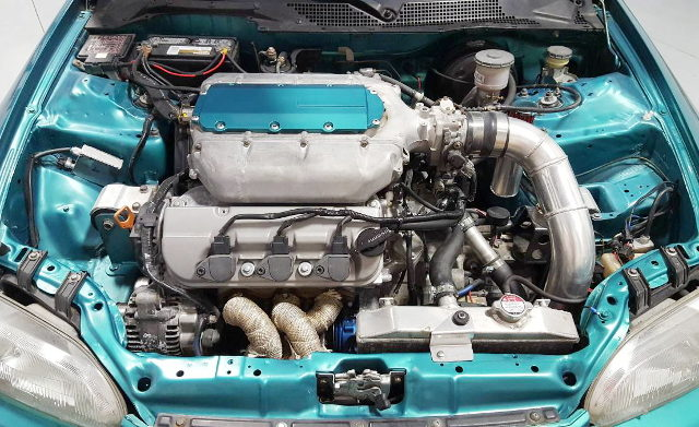 J32A V6 VTEC TURBO ENGINE
