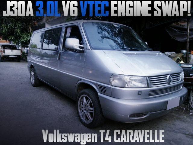 J30A V6 VTEC SWAP VW T4