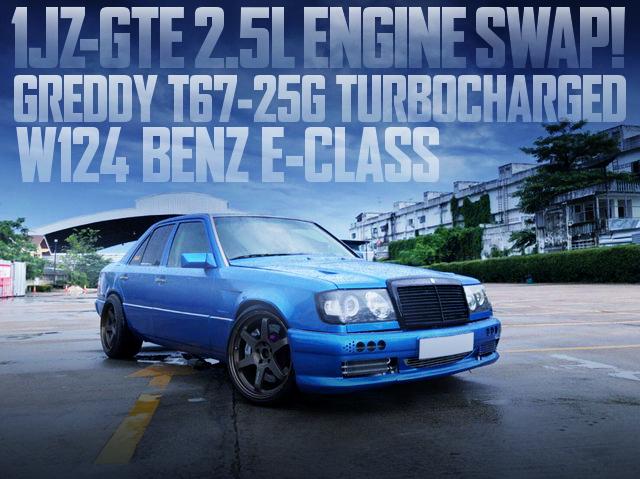 1JZ T67-25G W124 BENZ E-CLASS