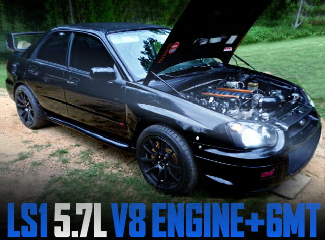 LS1 V8 ENGINE GD WRX STI
