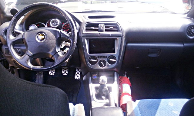 GD WRX STI INTERIOR