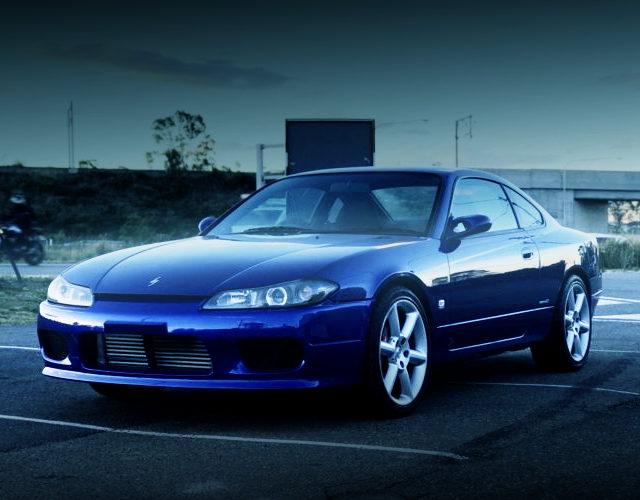 FRONT EXTERIOR S15 200SX BLUE