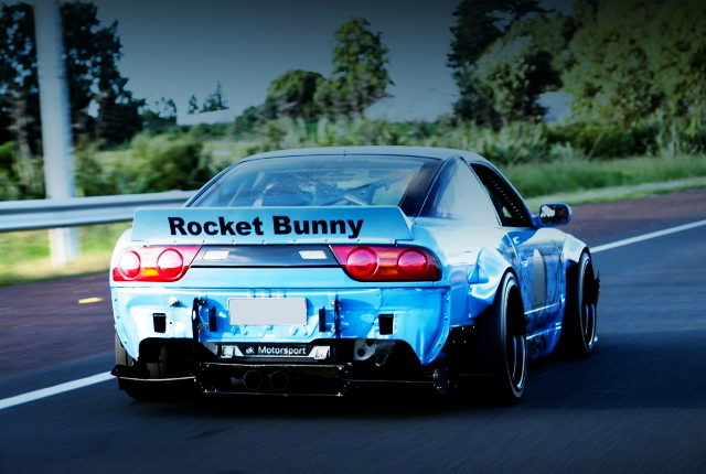 REAR EXTERIOR ROCKET BUNNY 180SX
