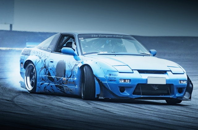 DRIFT ROCKET BUNNY 180SX