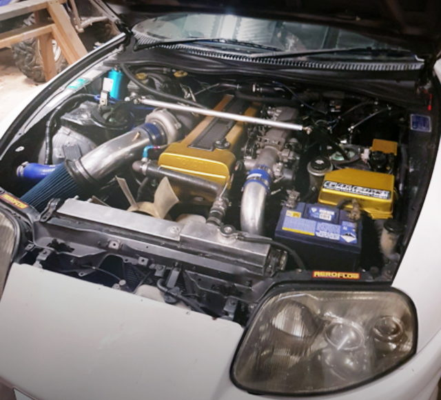 1JZ-GTE ENGINE WITH T66 TURBO