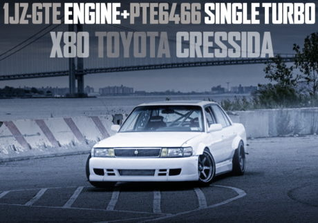 1JZ WITH PTE6466 TURBO X80 CRESSIDA