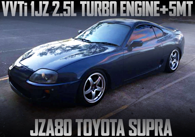 1JZ VVTi TURBO ENGINE JZA80 SUPRA
