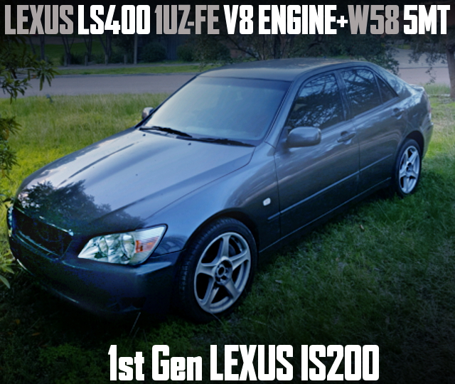 1UZ-FE V8 ENGINE LEXUS IS200