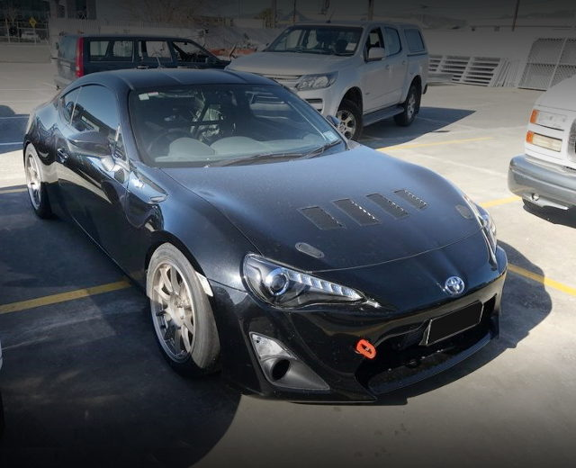 FRONT FACE TOYOTA 86 BLACK