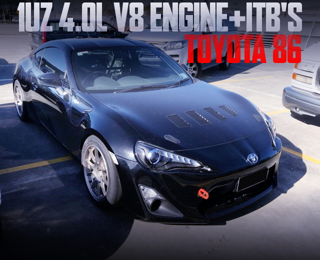 1UZ V8 ENGINE TOYOTA 86GT