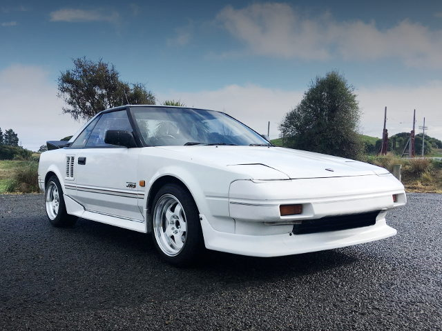 FRONT FACE AW11 MR2 WHITE