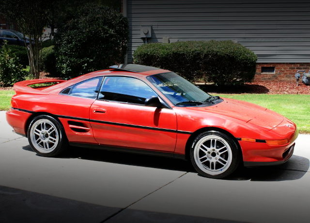 FRONT EXTERIOR SW21 MR2 RED