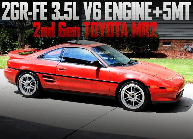 2GR-FE ENGINE SWAP SW21 MR2