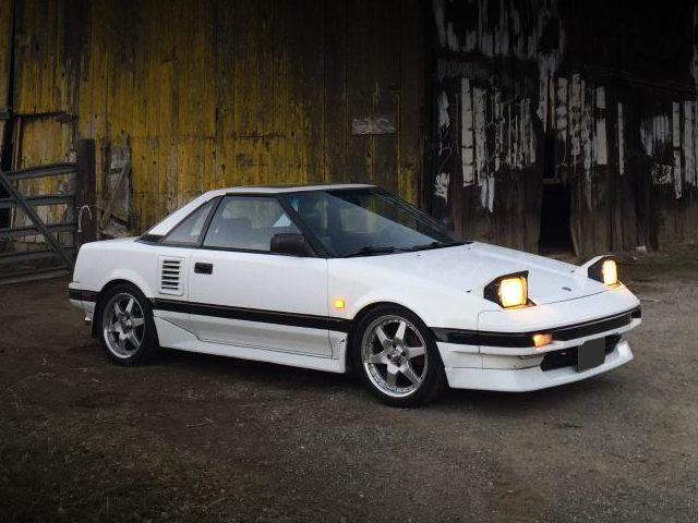 HEAD LIGHT 1st Gen MR2 WHITE
