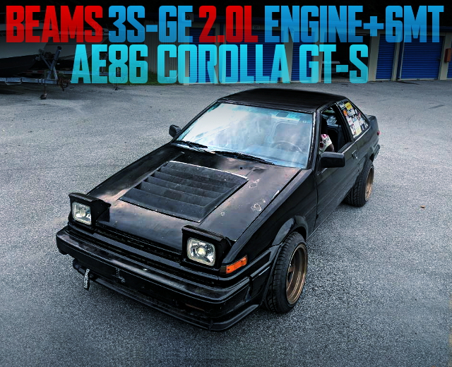 3S-GE ENGINE WITH 6MT AE86 COROLLA GT-S
