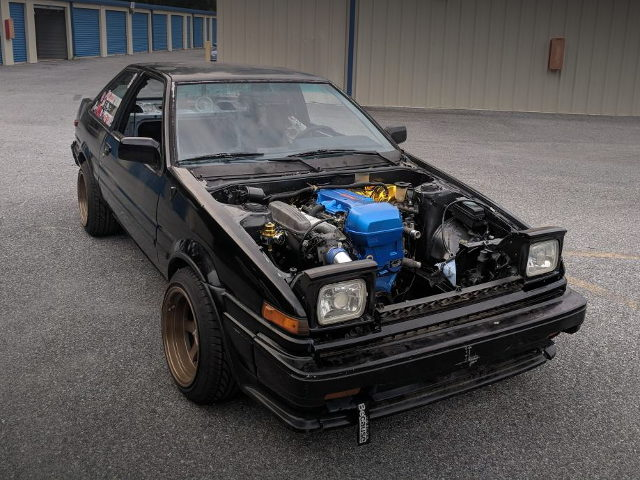 AE86 ENGINE ROOM