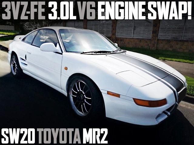 3VZ-FE V6 ENGINE SWAP SW20 MR2