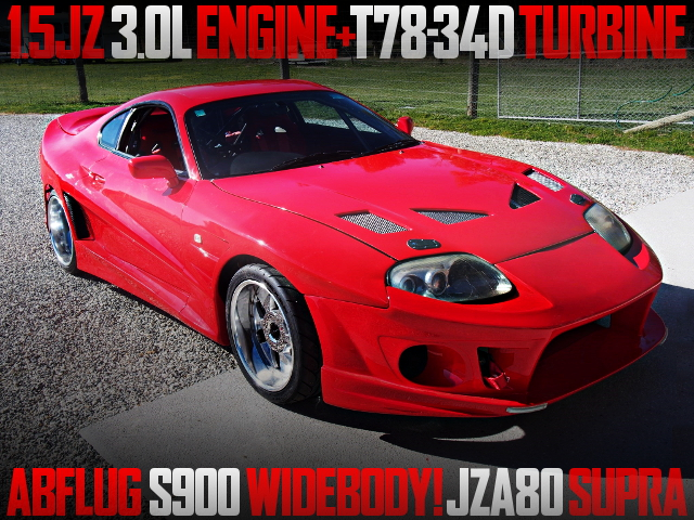 ABFLUG S900 WIDEBODY JZA80 SUPRA