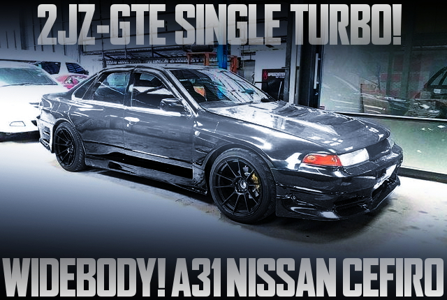 2JZ SINGLE TURBO A31 CEFIRO WIDEBODY