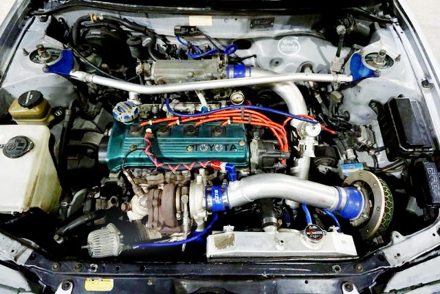 4E-FTE ENGINE WITH TF035 TURBO