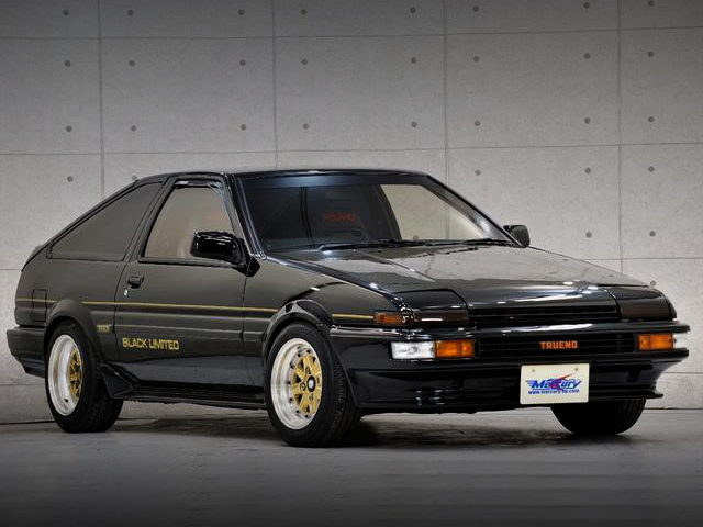 FRONT FACE AE86 BLACK LIMITED