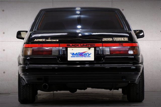 REAR TAIL LIGHT AE86 BLACK LIMITED