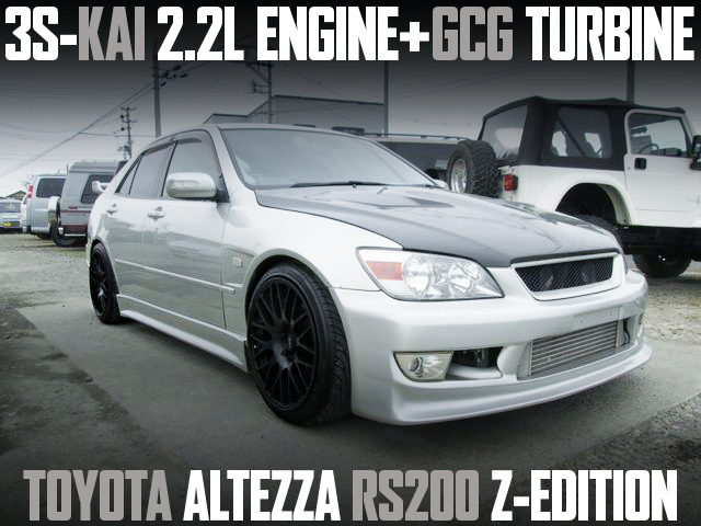 3SGE 2200cc GCG TURBO ENGINE ALTEZZA RS200