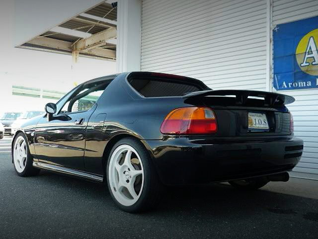 REAR EXTERIOR CR-X DELSOL