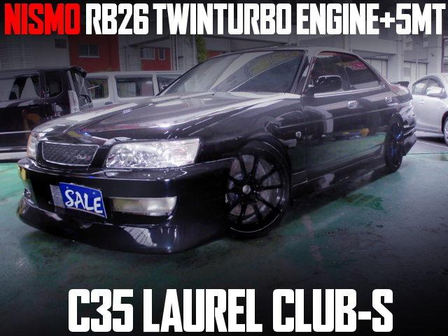 NISMO VER RB26 SWAP C35 LAUREL CLUB-S