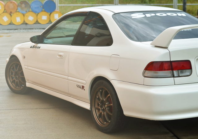 REAR FENDER 2nd Gen CIVIC COUPE