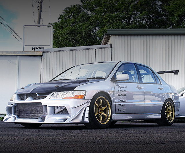 FRONT FACE CT9A LANCER EVO7