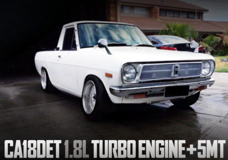 CA18DET TURBO ENGINE DATSUN UTE