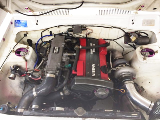CA18DET TURBO ENGINE