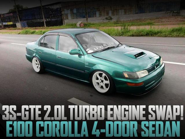 3S-GTE TURBO ENGINE E100 COROLLA 4-DOOR