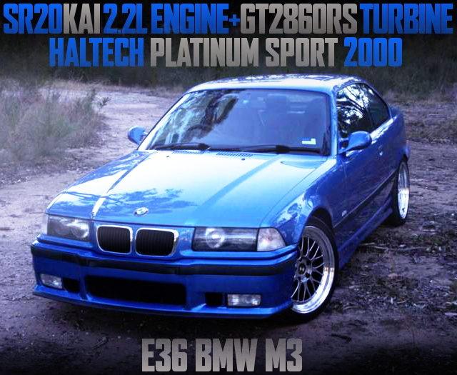 SR20DET SWAP E36 BMW M3 COUPE BLUE