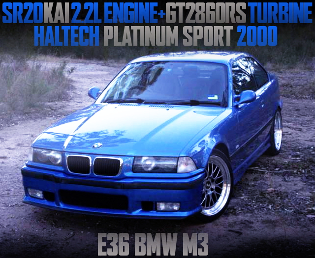 SR20DET SWAP E36 BMW M3 COUPE BLUE