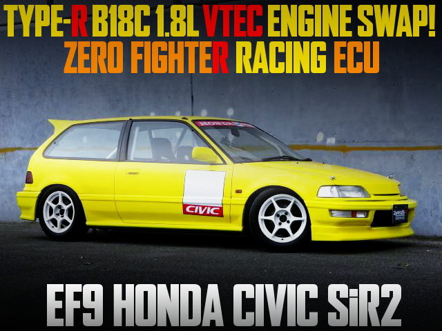 TYPE-R B18C VTEC ENGINE EF9 CIVIC SiR2
