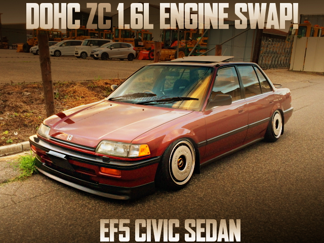 ZC ENGINE SWAP EF5 CIVIC SEDAN