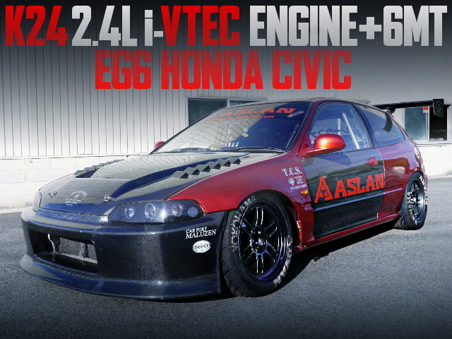 K24 iVTEC ENGINE 6MT EG6 CIVIC